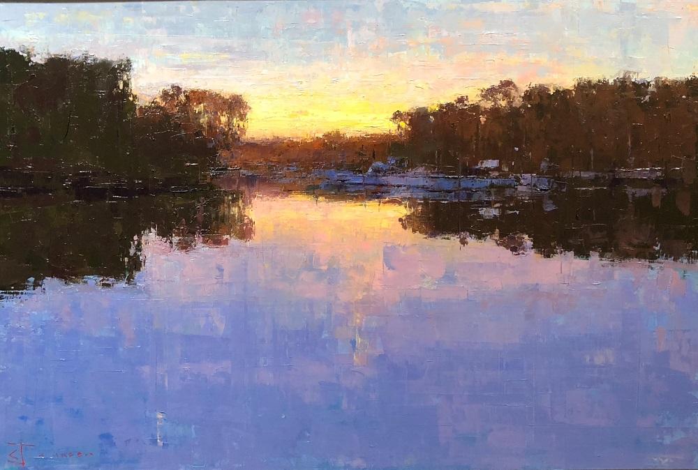 Curtis Stewart Jaunsen-Harbor, 24x36