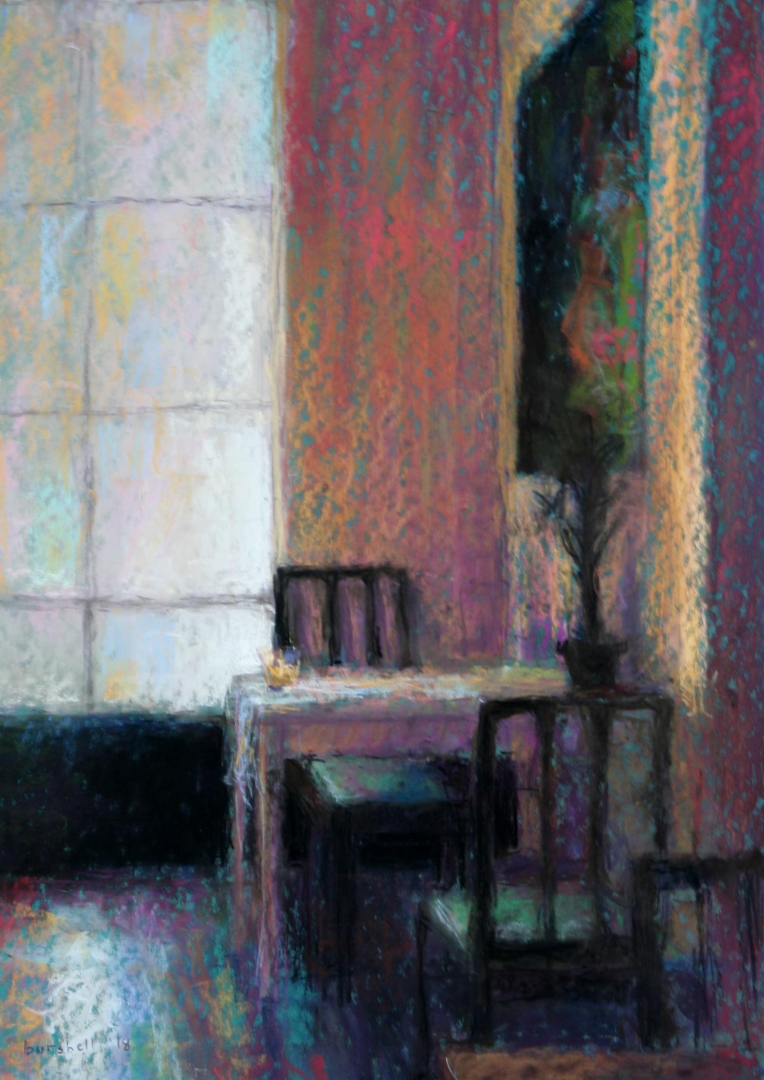 Sandra Burshell-COOL LIGHT, BARCELONA 20x14.5