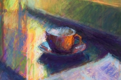 Sandra Burshell-AFTERNOON CUP 8.5x7.25